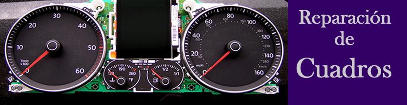 Reparación de cuadros de instrumentos Volkswagen -Rubi-Grupo Apertcar