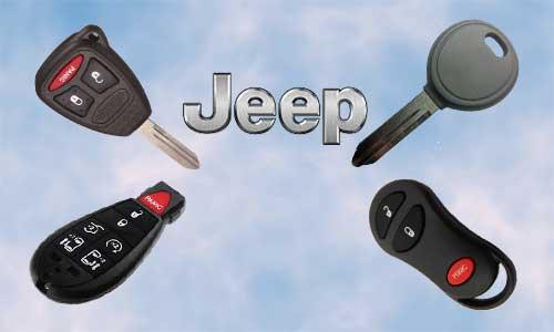 Llaves de coche Jeep en grupo Apertcar