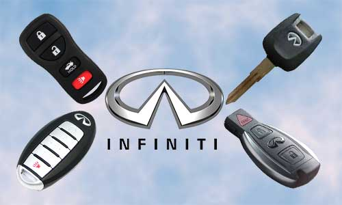Llaves de coche Infiniti en grupo Apertcar