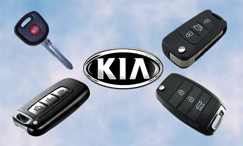 Llaves de coche KIA en grupo Apertcar