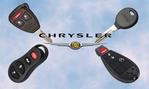 Llaves de coche Chryslert en grupo Apertcar