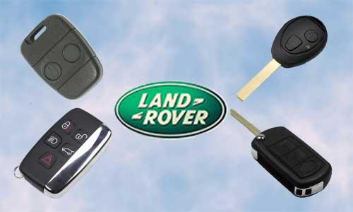 Llaves de coche Land Rover en grupo Apertcar
