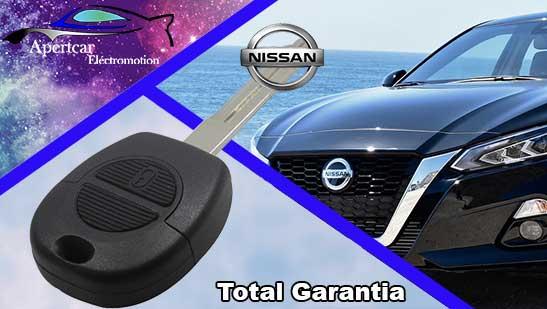 Llaves de coche Nissan en grupo Apertcar