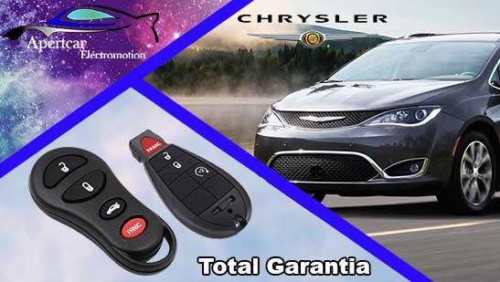 Llaves de coche Chrysler en grupo Apertcar