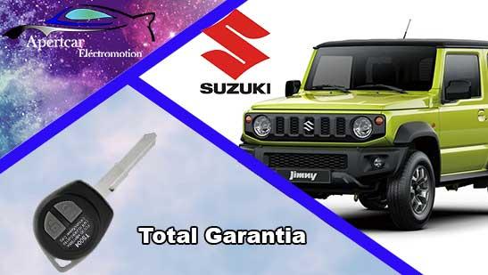 Llaves de coche Suzuki en grupo Apertcar