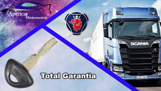 Llaves de Camion Scania en grupo Apertcar