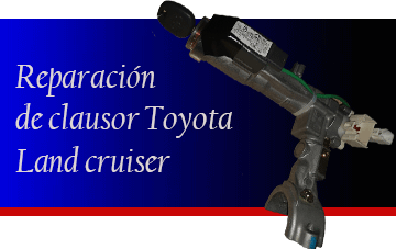 Reparación de Clausor Toyota