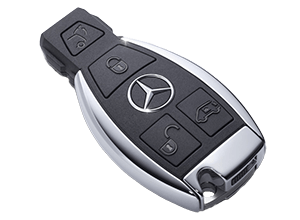 Llaves de coche Mercedes