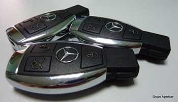 Duplicado de llaves de Mercedes-Grupo Apertcar-Rubí