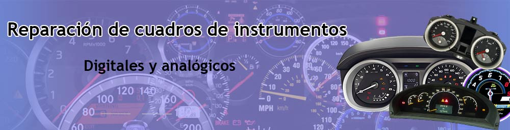 Reparación cuadros instrumentos en Puigcerda