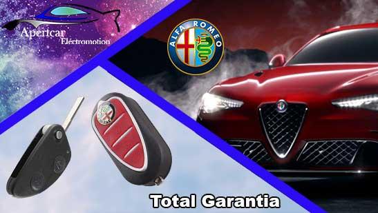 Llaves de coche Alfa Romeo en grupo Apertcar