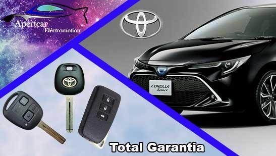 Llaves de coche Toyota en grupo Apertcar