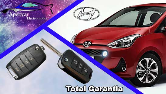 Llaves de coche Hyundai en grupo Apertcar