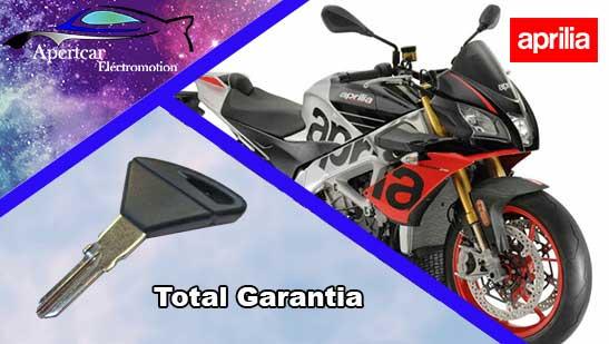 Llaves de Moto Aprilia en grupo Apertcar