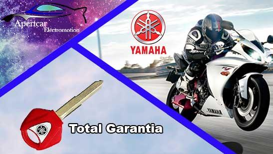 Llaves de moto yamaha en grupo Apertcar