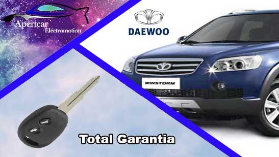 Llaves de coche Daewoo en grupo Apertcar